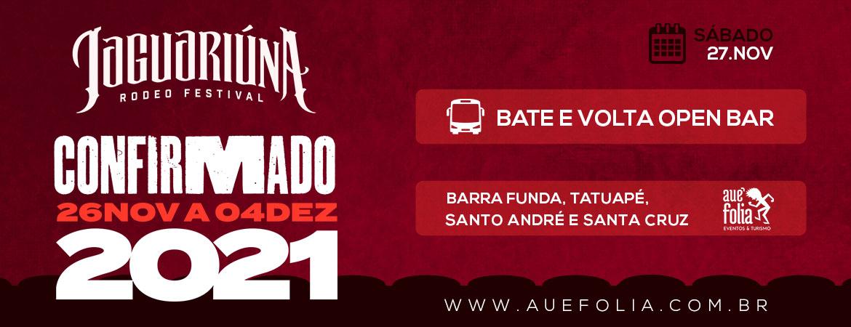 Rodeio de Jaguariúna 2021 - Sábado 27/Novembro