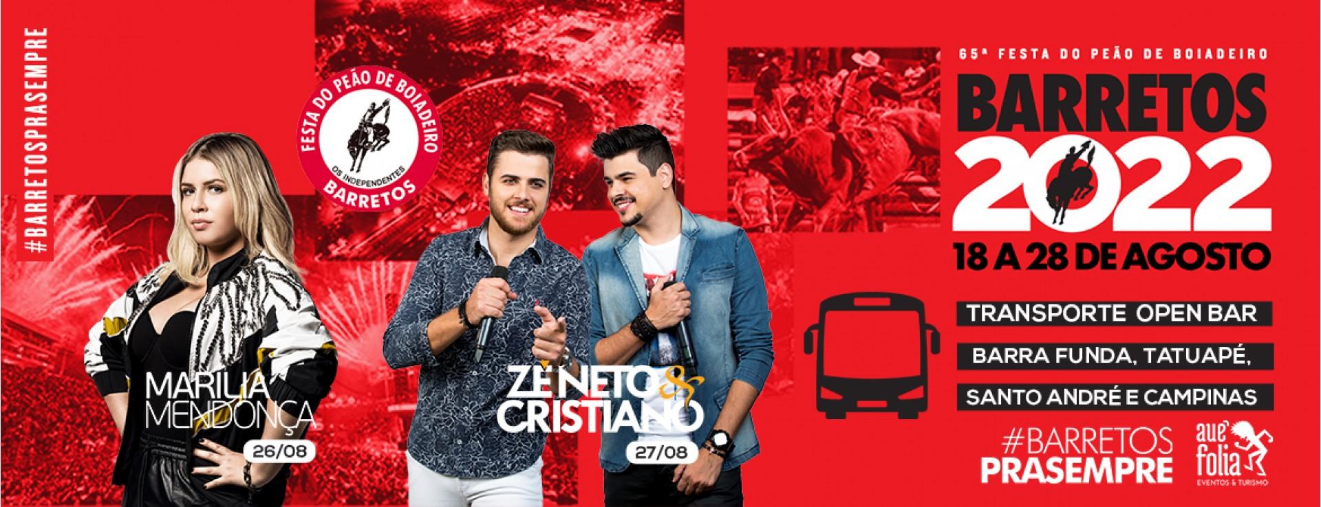 Barretos 2022 - Zé Neto e Cristiano